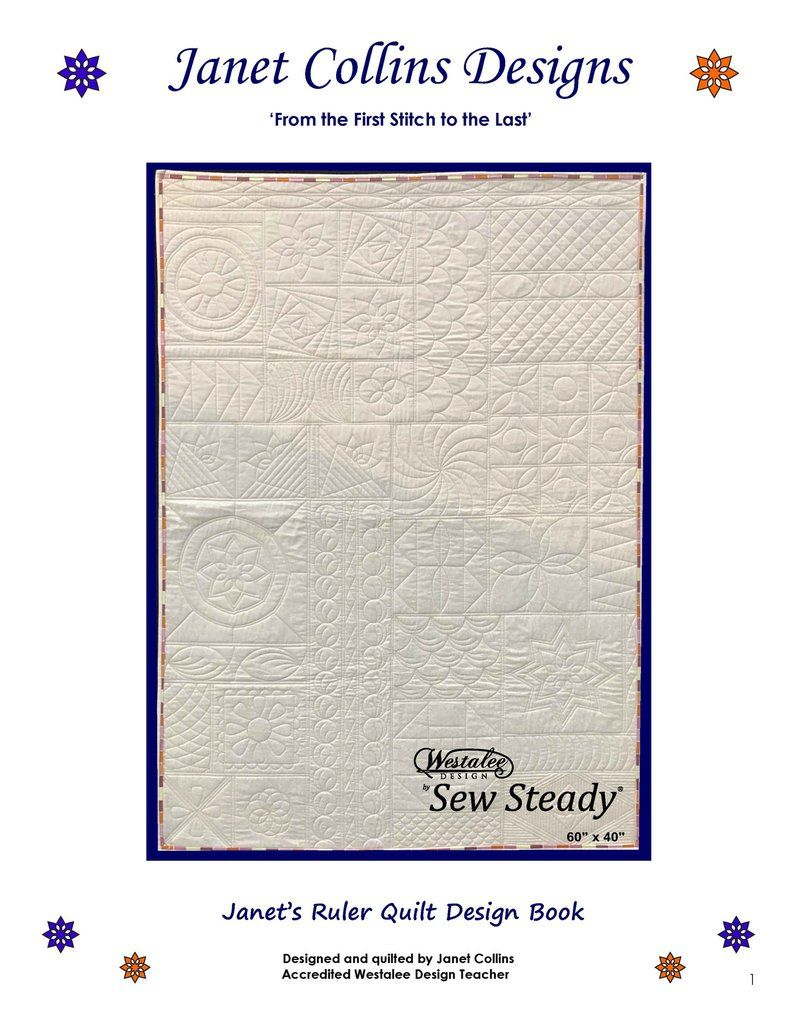 Janets Ruler Quilt Design Book Fmq Ideas Pinterest Quilting