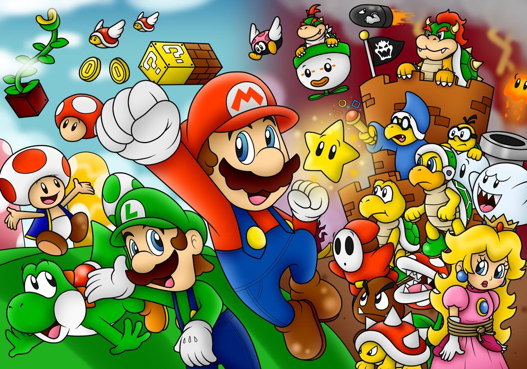 Super Mario Wallpaper by on
