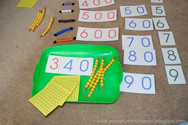 learning how to count large quantities