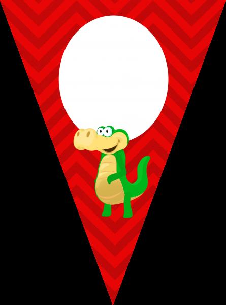 Bandeirinha Varalzinho Jacaré A Turma do Seu Lobato