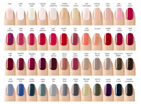 Cnd Shellac Nail Colors