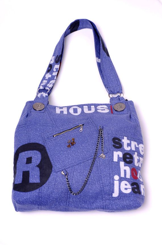STREET RETRO Handmade bag  by Mishonki