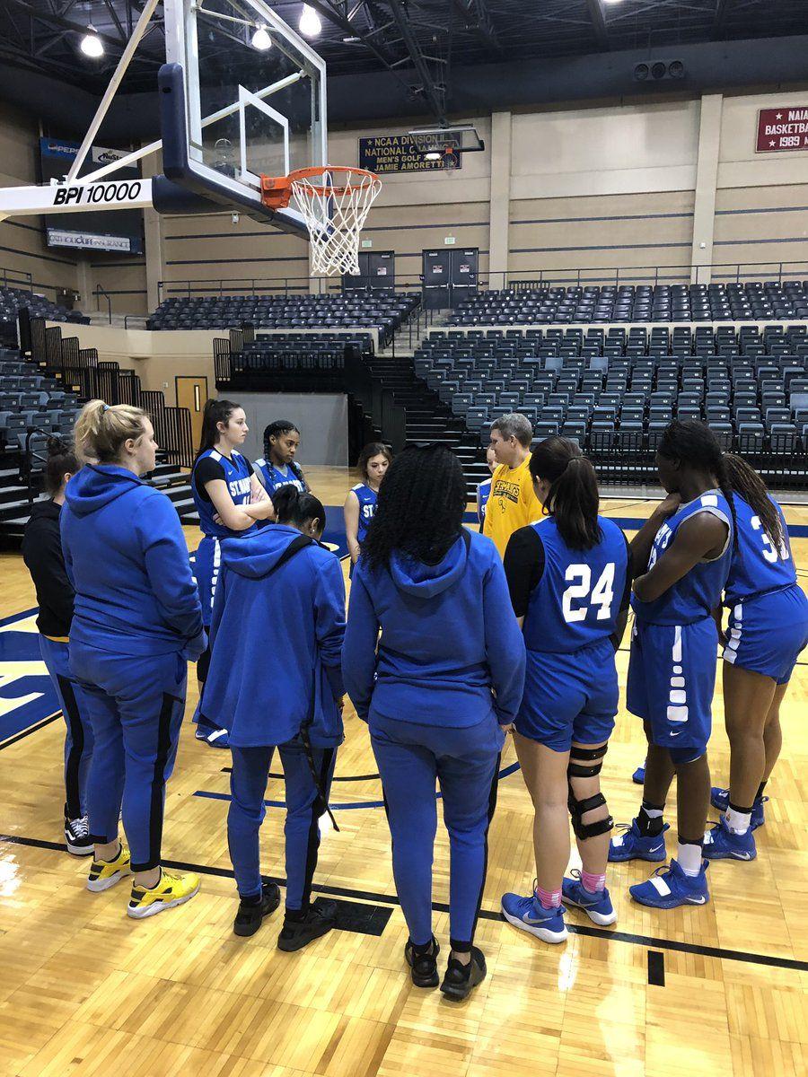 St Mary S University Women S Basketball Huddle Up Womens Basketball University Catholic University