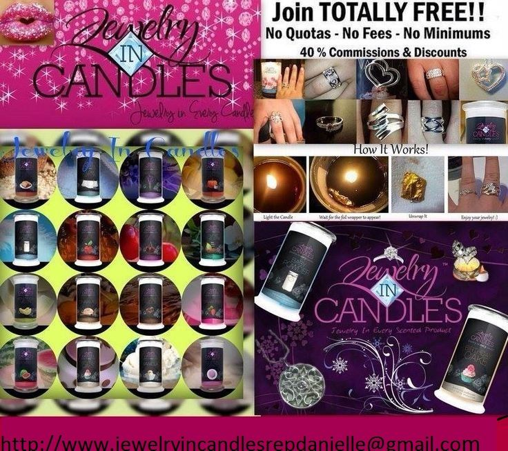 Only 2495 burns 100150 hrs jewelry in every candle 2
