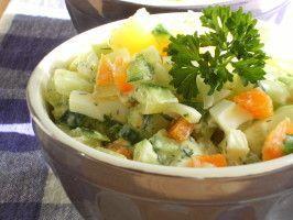 Russian Style Salad(Salat Olivier) #olivierrussischersalat Russian Style Salad (Salat Olivier) #olivierrussischersalat