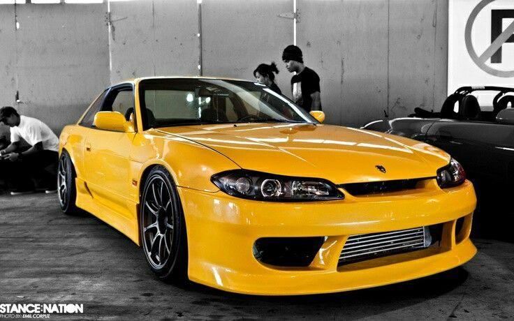 S15 yellow Nissan s15, Nissan silvia, Japan cars