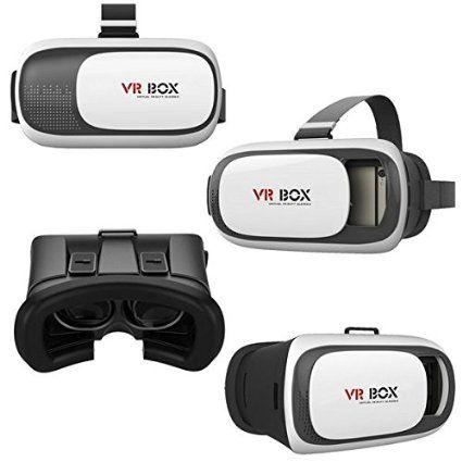 Asnlove 2nd Vr Box Gafas De 3d Videos Juego Google Carton Vr 3d