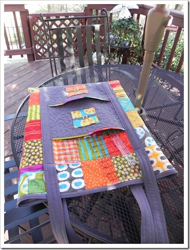 Cutting Mat and Rulers Quilting Tote. Free pattern. | It's in the ... : quilting tote - Adamdwight.com