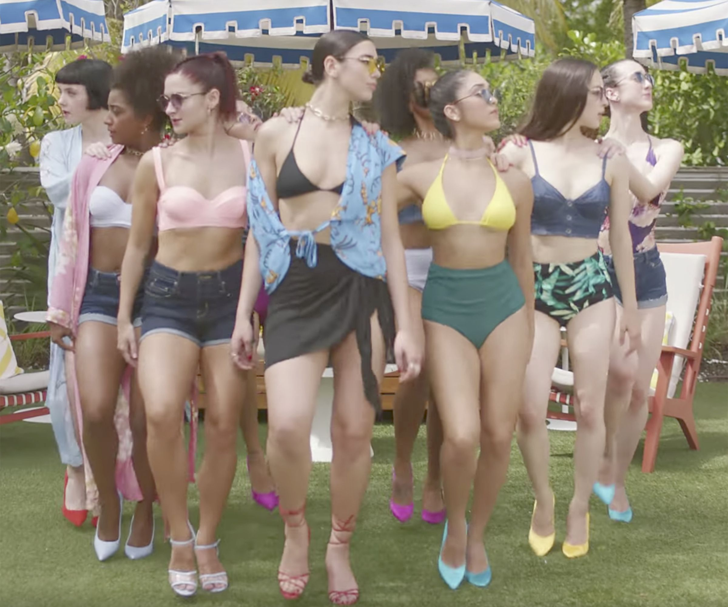 "New Rules Dua Lipa: Dua Lipa Knows The ""New Rules"" Of Summer Style"