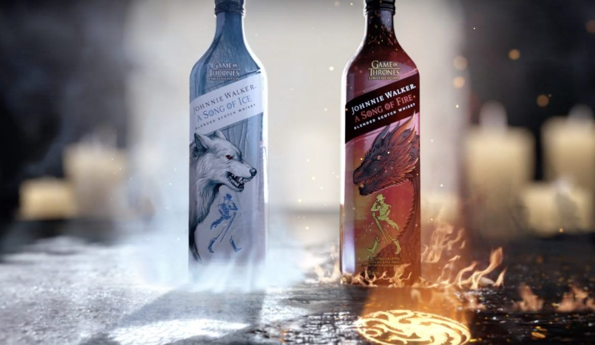 La Canción De Hielo Y Fuego De Johnnie Walker Todo Whisky Johnnie Walker Halloween Bottle Labels Halloween Bottles