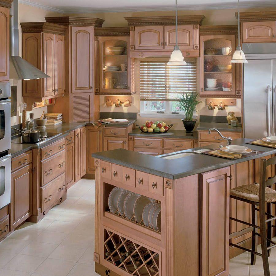 Best Kitchen Gallery: Shop Shenandoah Winchester 14 5 In X 14 56 In Mocha Glaze Maple of Shenandoah Kitchen Kompact Cabinets on rachelxblog.com