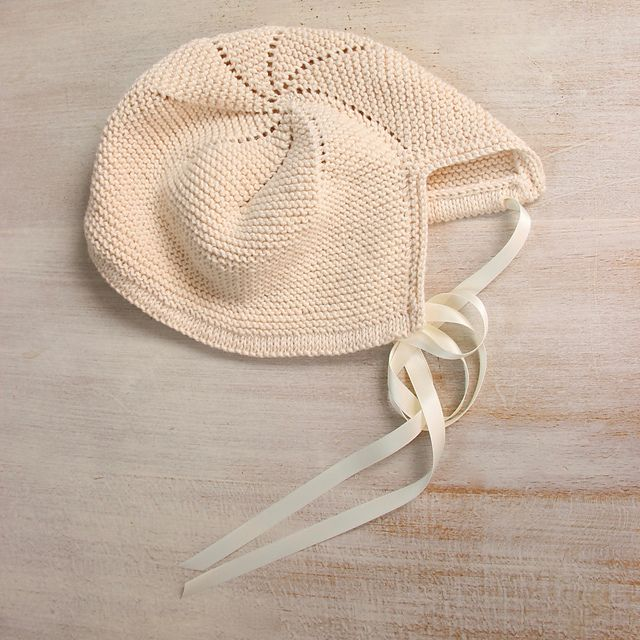 Ravelry: 39 / Baby Bonnet pattern by Florence Merlin
