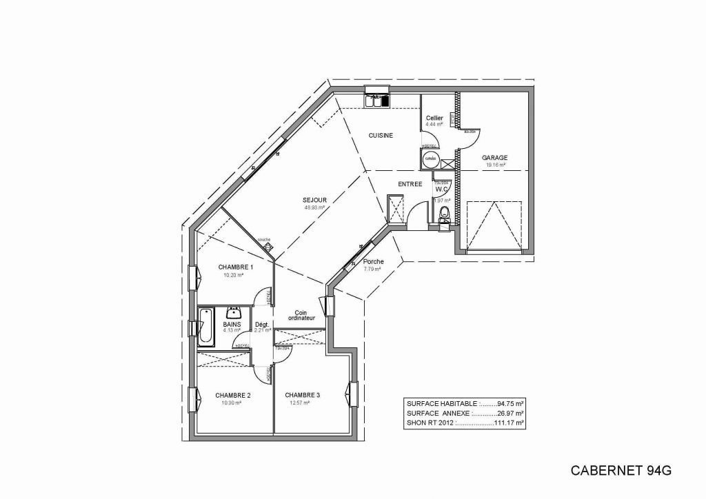 34 Plan De Maison 50m2 Gratuit Plan De La Maison Plan Maison Plain Pied Plan Maison En U Plan De Maison En Longueur