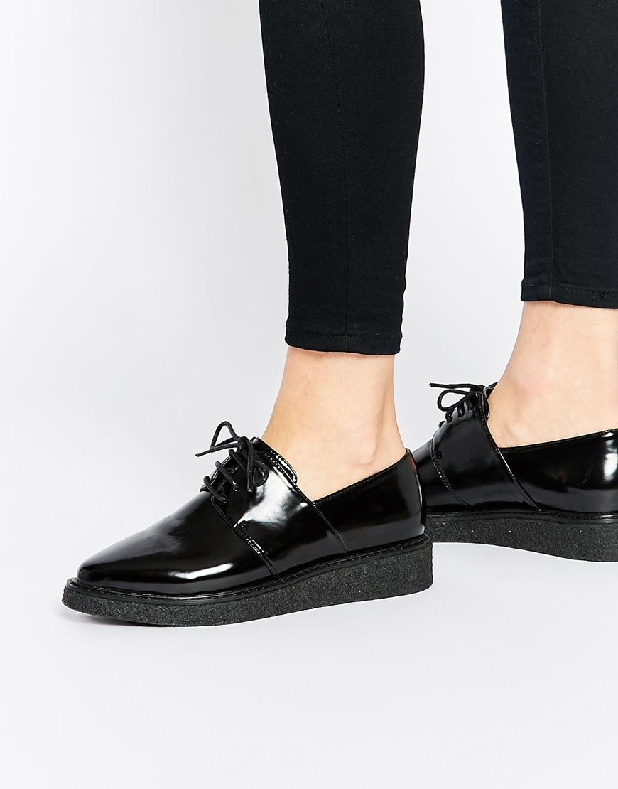 Buy Women Shoes  Asos Memorise Pointed Creepers