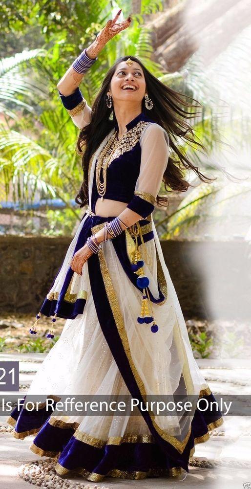 78aa1467fa Lehenga Wedding Designer Indian Latest Bollywood Bridal Embroidery velvet  choli #Handmade #lehenga