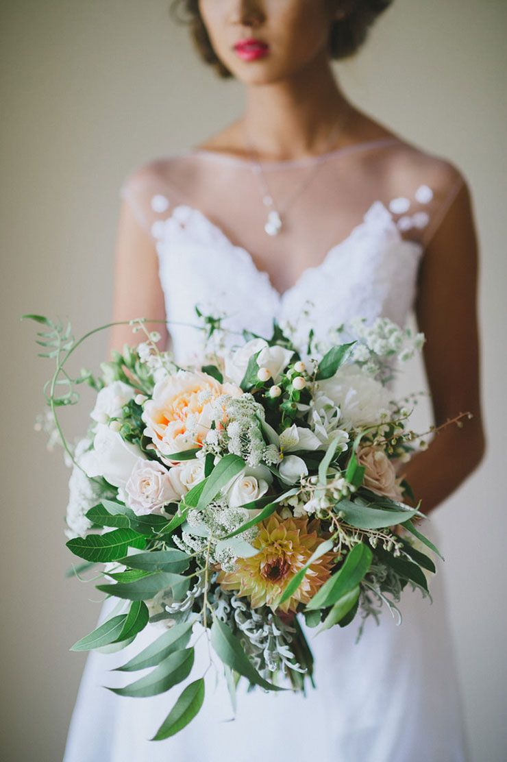 A timeless natural wedding bride bouquets and weddings a timeless natural wedding the wedding playbook wedding whitebride bouquetsflower izmirmasajfo Choice Image