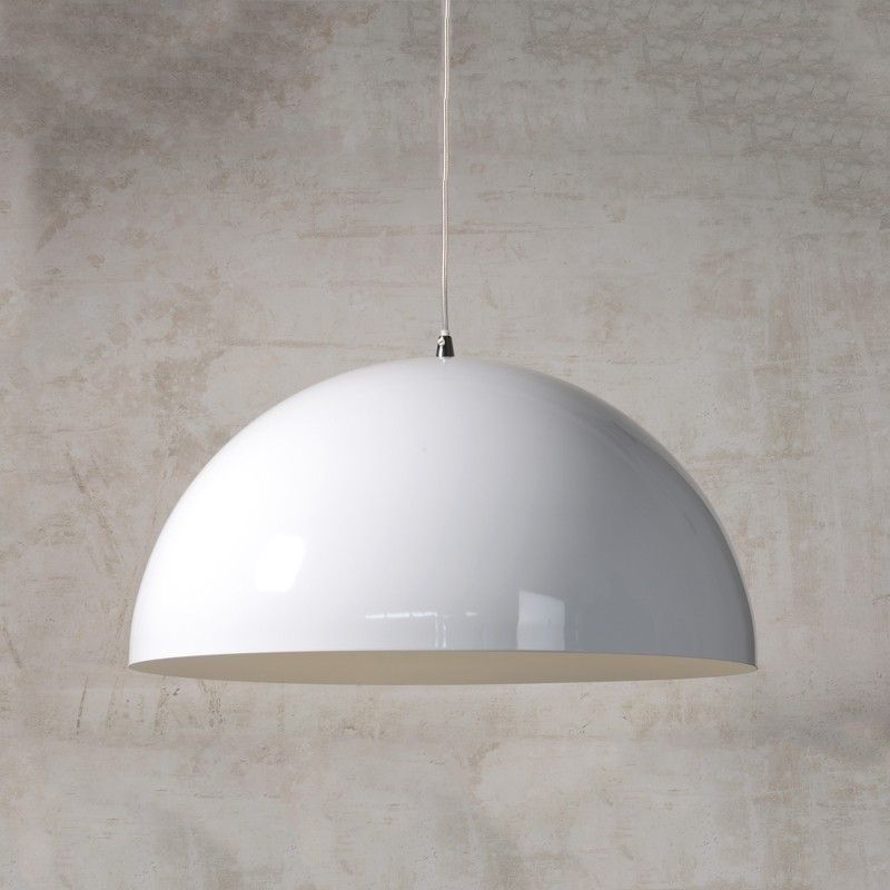Lucide riva bowl ceiling pendant light white home stuff lucide riva bowl ceiling pendant light white aloadofball Image collections