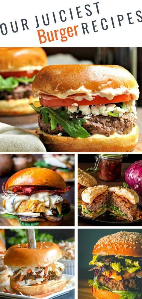 31 Must-try burger recipes for Father's Day and Beyond images