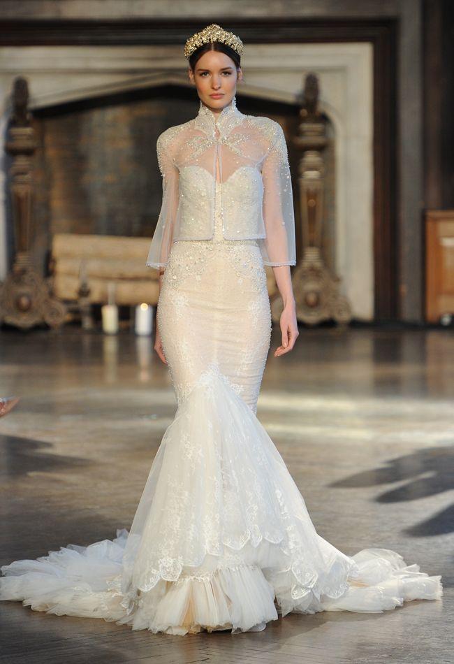 f621948053fe Inbal Dror Shows Regal, Romantic and Super Sexy Wedding Dresses for ...