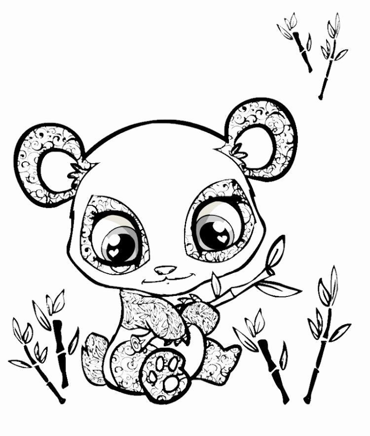 Coloring Pictures Of Cute Animals Luxury Cute Big Eyed Animal Coloring Pages Coloring Pages A Panda Coloring Pages Animal Coloring Pages Animal Coloring Books