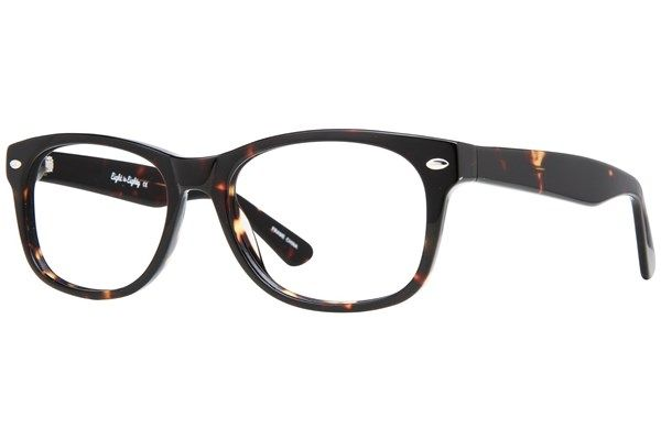 51930f8f2 This stylish Eight to Eighty Eyewear's Parker is a chunky square tortoiseshell  frame made of durable