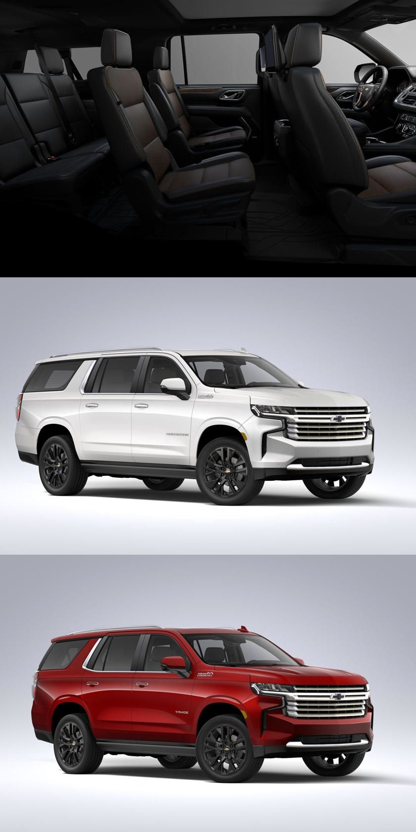 Here S How Much A Fully Loaded 2021 Chevrolet Suburban And Tahoe Will Cost Online Configurators For Chevrolet S N In 2020 Chevrolet Suburban Chevrolet Chevrolet Tahoe