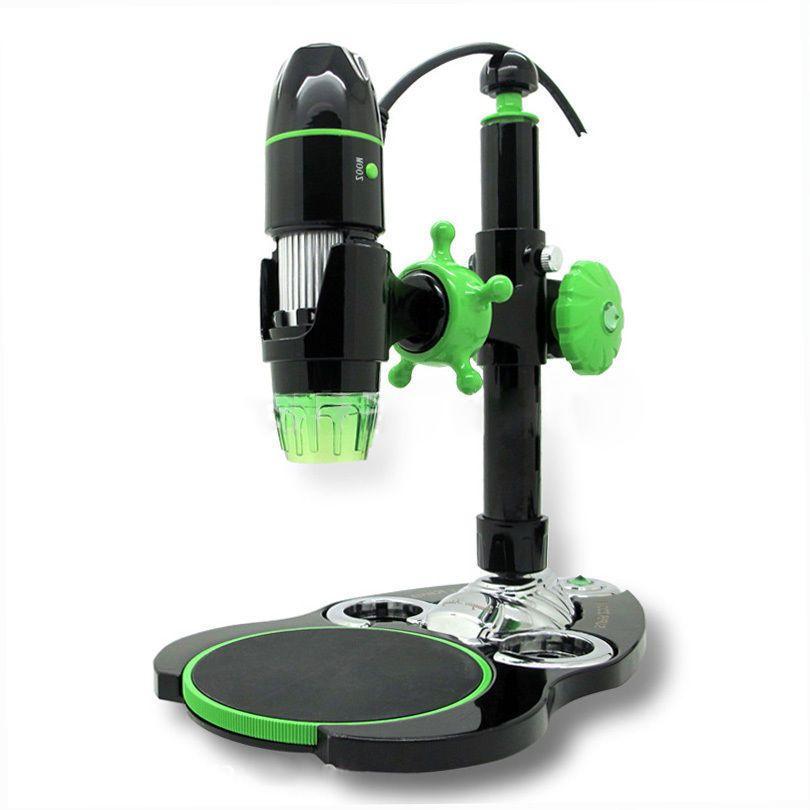 5X500X 2MP 8LED 3D Zoom Digital USB Microscope Brand New