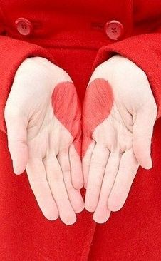#hearts, Love in the palm of your hands