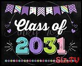 Class of 2031 First Day Sign INSTANT DOWNLOAD Grow With Me PRINTABLE First Day of Kindergarte Class of 2031 First Day Sign INSTANT DOWNLOAD Grow With Me PRINTABLE First D...