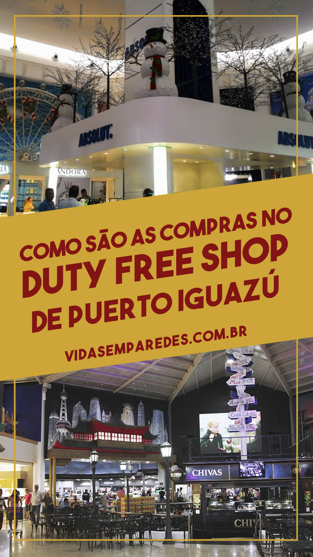 Como Sao As Compras No Duty Free Shop De Puerto Iguazu Duty Free