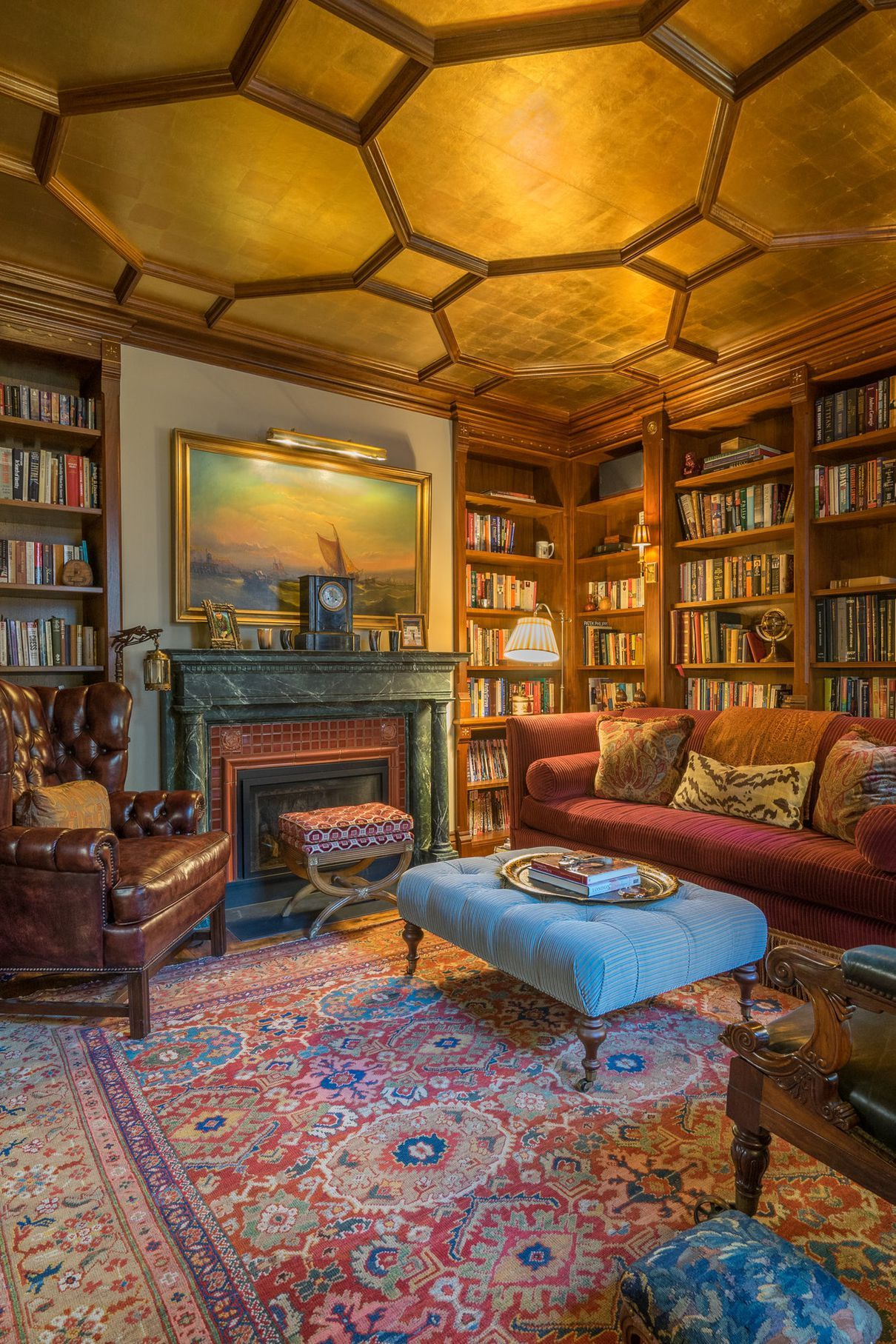 Interior Design Home Library: 45 Examples That Prove Your Books Deserve Attention