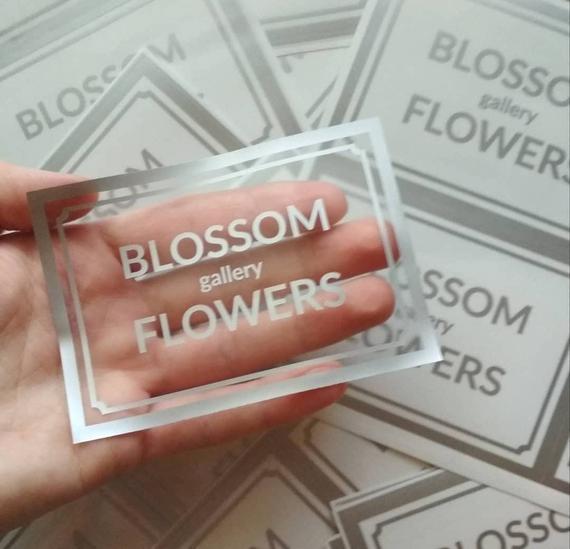 Custom 100 set labels Transparent stickers Custom clear