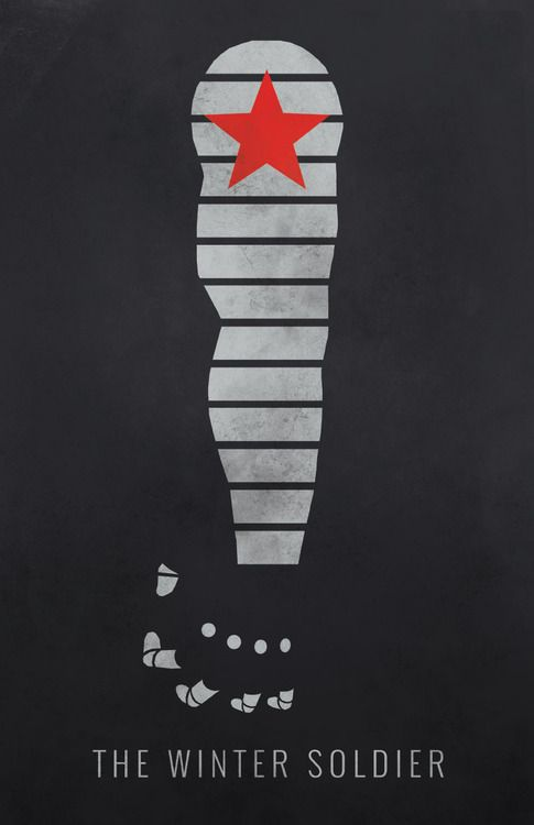 Captain America: Winter Soldier Minimalist Poster | Orion ...