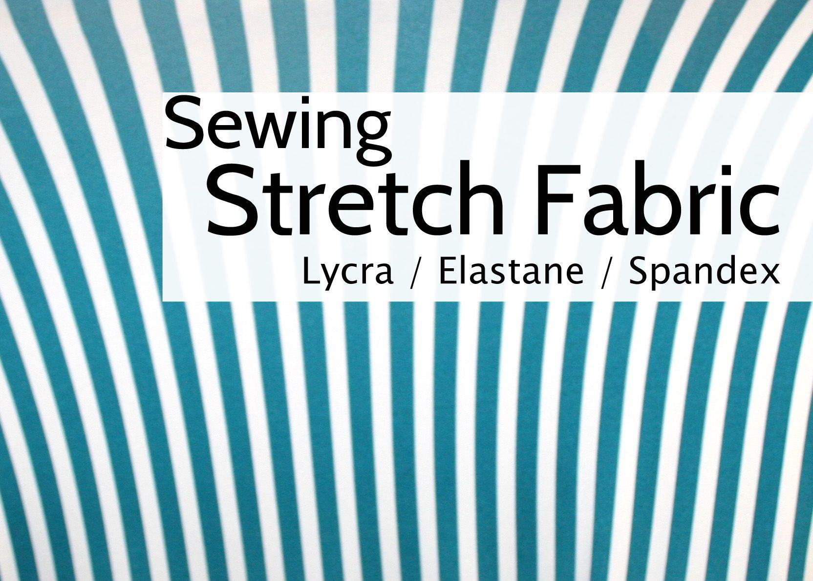 Sewing Lyrca Spandex Elastane Sewing Elastic Sewing