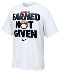 bd4cd25dfdc7b2 Lebron James Nike Earned Not Given T-Shirt  29.99 http   www.