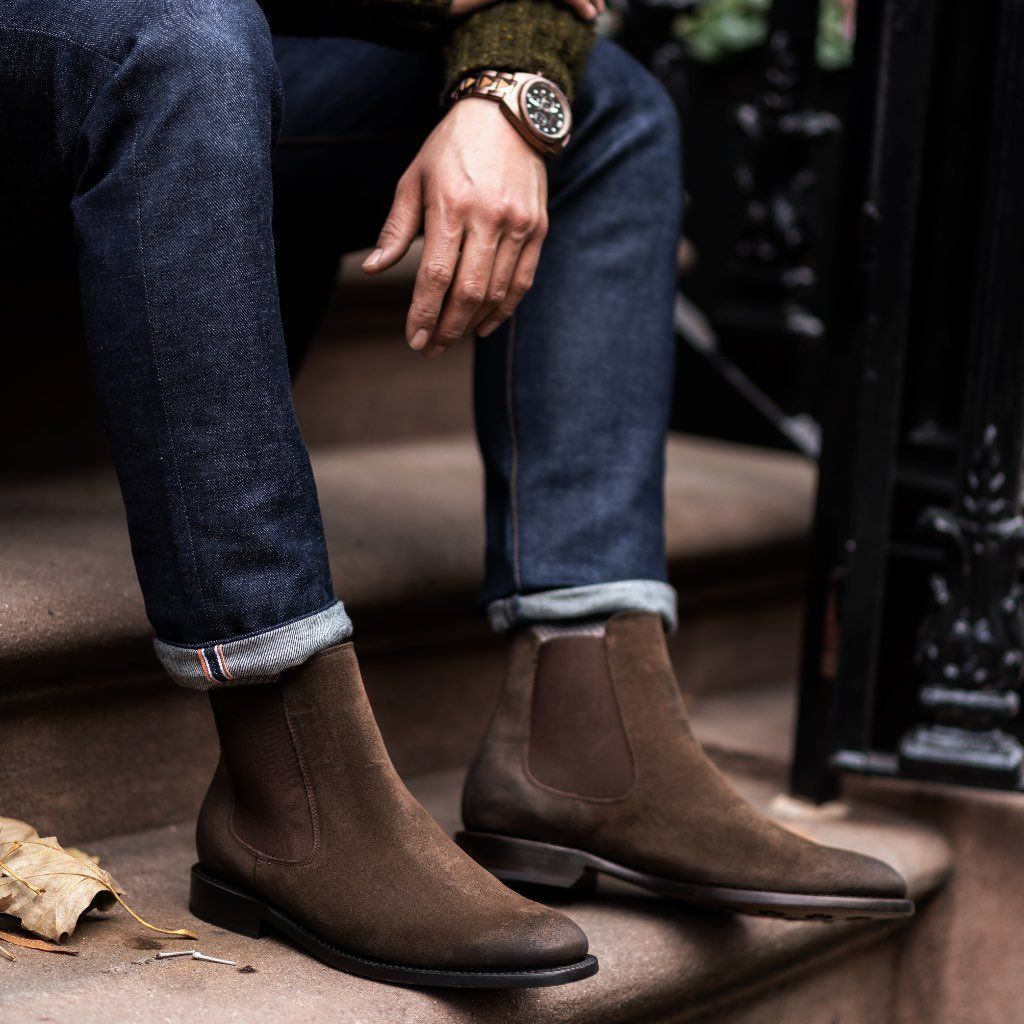 41++ Brown leather chelsea boots ideas information