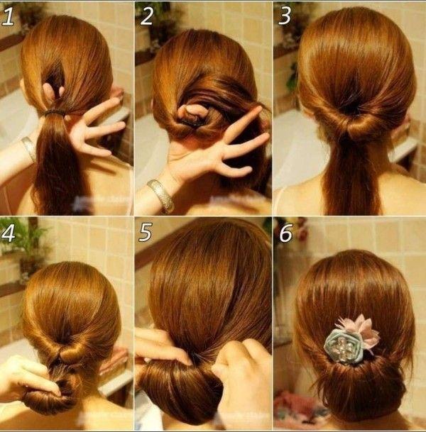 Frisuren hochzeit diy