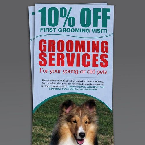 Help Our Animal Hospital Get More Grooming Clients With Your Superior Design Skills Postcard Flyer Or Print Contest S Design Skills Animal Hospital Postcard