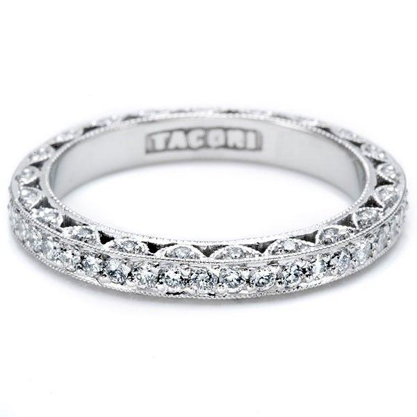 Tacori Ht2259b Wedding Ring Diamond Eternity Wedding Band Eternity Band Diamond Platinum Wedding Rings