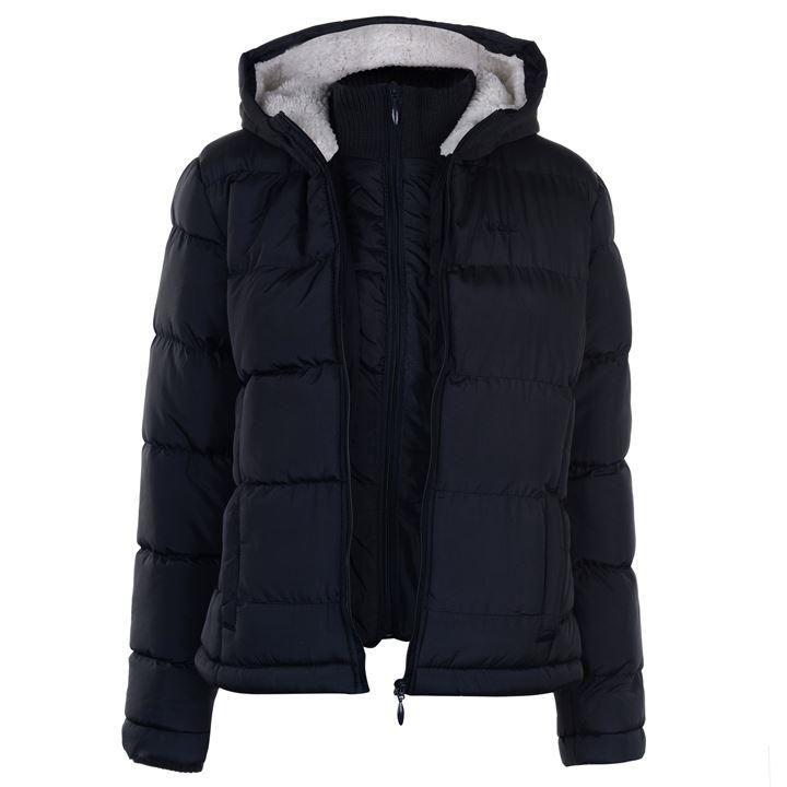 ea0b05ceb Lee Cooper Ladies Bubble Jacket   Ladies Jacket   Padded Jacket ...