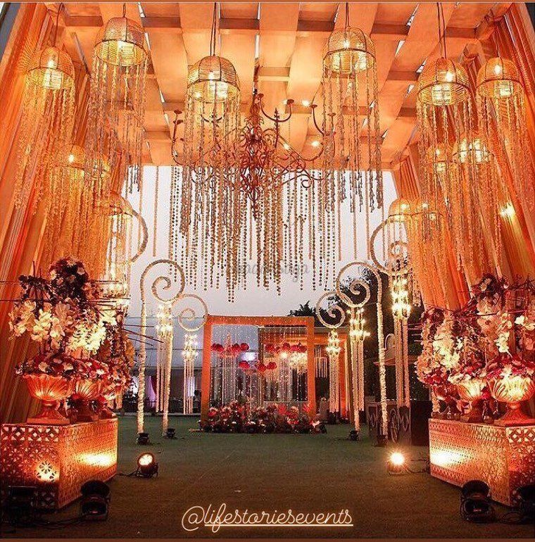Beautiful Royal Decor Ideas For Wedding. #weddingdecor
