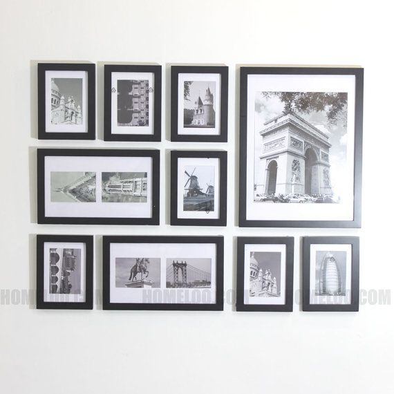 Create The Perfect Picture Wall In Minutes Fast And Easy Material Solid Wood And Plexiglass Acrylic Frame Wall Collage Picture Collage Wall Frames On Wall