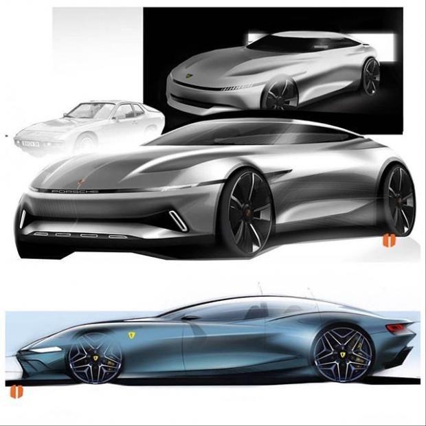 Car Design Daily (@cardesigndaily) Photos et vidéos Instagram #conceptcars #concept #cars #concept #car #design #sketches