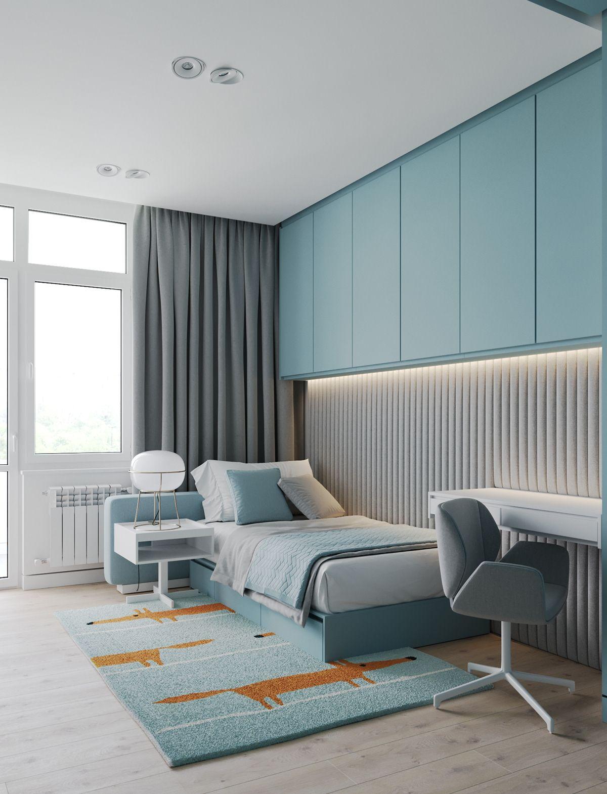 Project With Modular Shelves On Behance Childrens Bedroom Furniture Kids Bedroom Decor Bedroom Interior