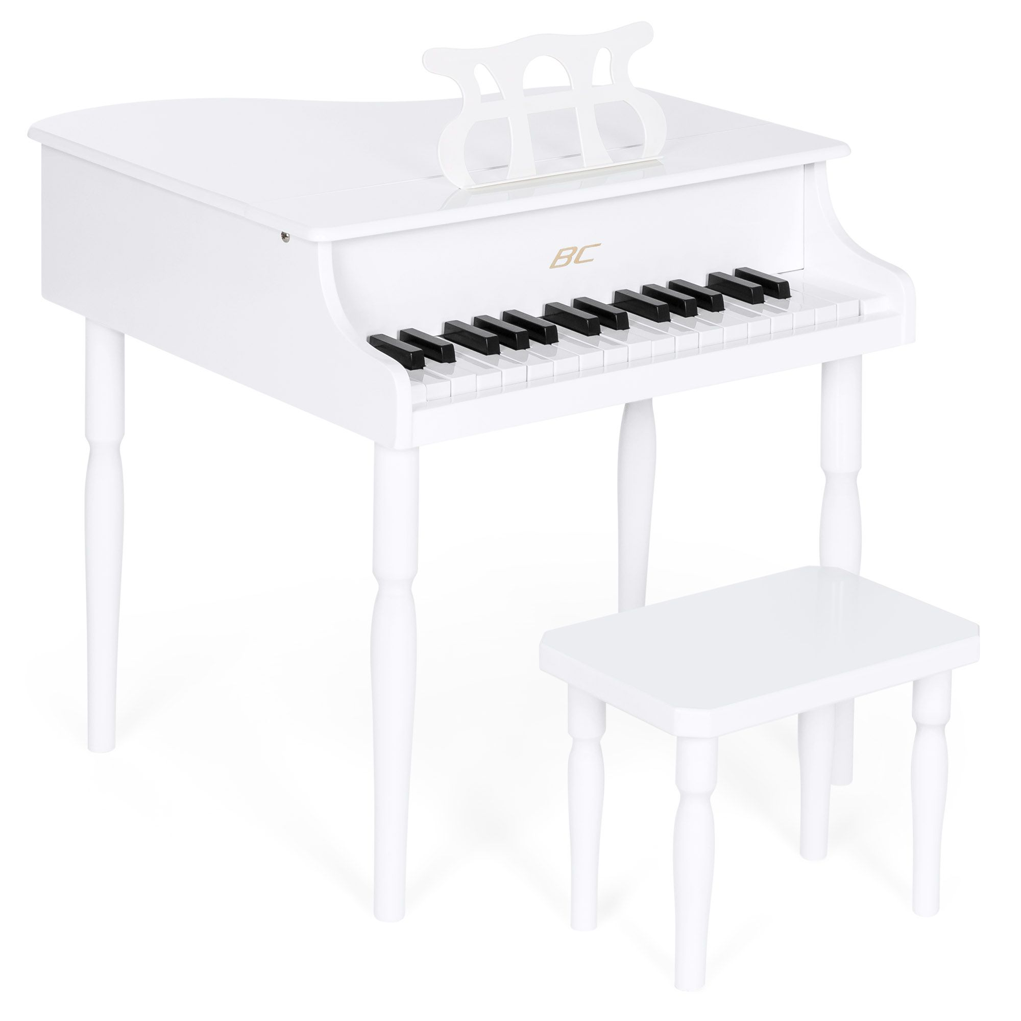 Buy Best Choice Products Kids 30 Key Classic Wood Mini Baby Grand