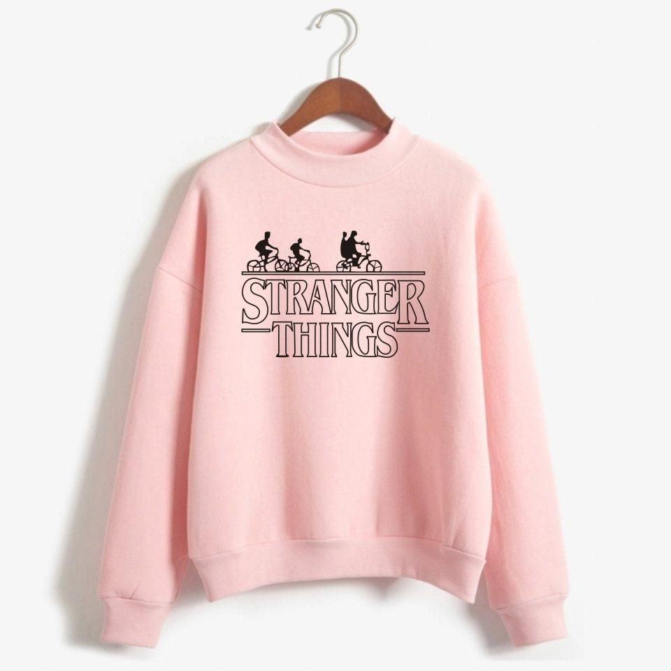 Pink dress from stranger things  American Television Stranger Things Sweatshirt Stranger Things