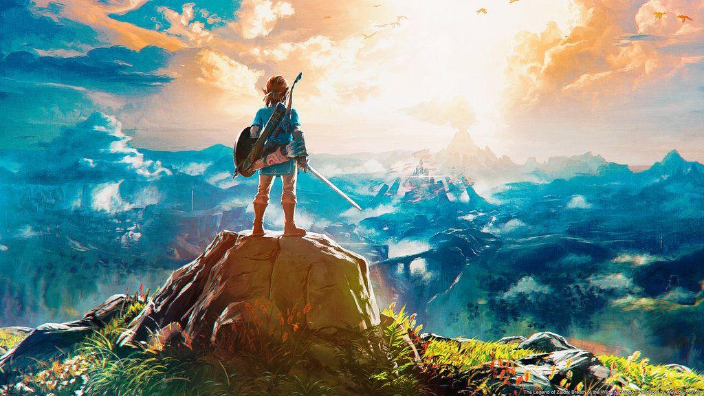 The Legend Of Zelda Breath Of The Wild Wallpaper By De Monvarela Legend Of Zelda Breath Breath Of The Wild Legend Of Zelda