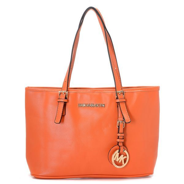 Michael Kors Jet Set Small Travel Tote Tangerine Products ...