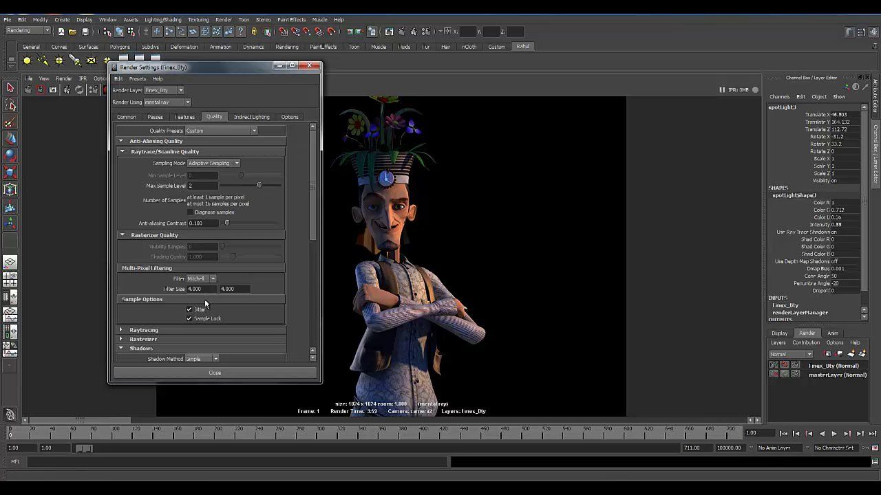 Maya - Basic Character Lighting Tutorial on Vimeo