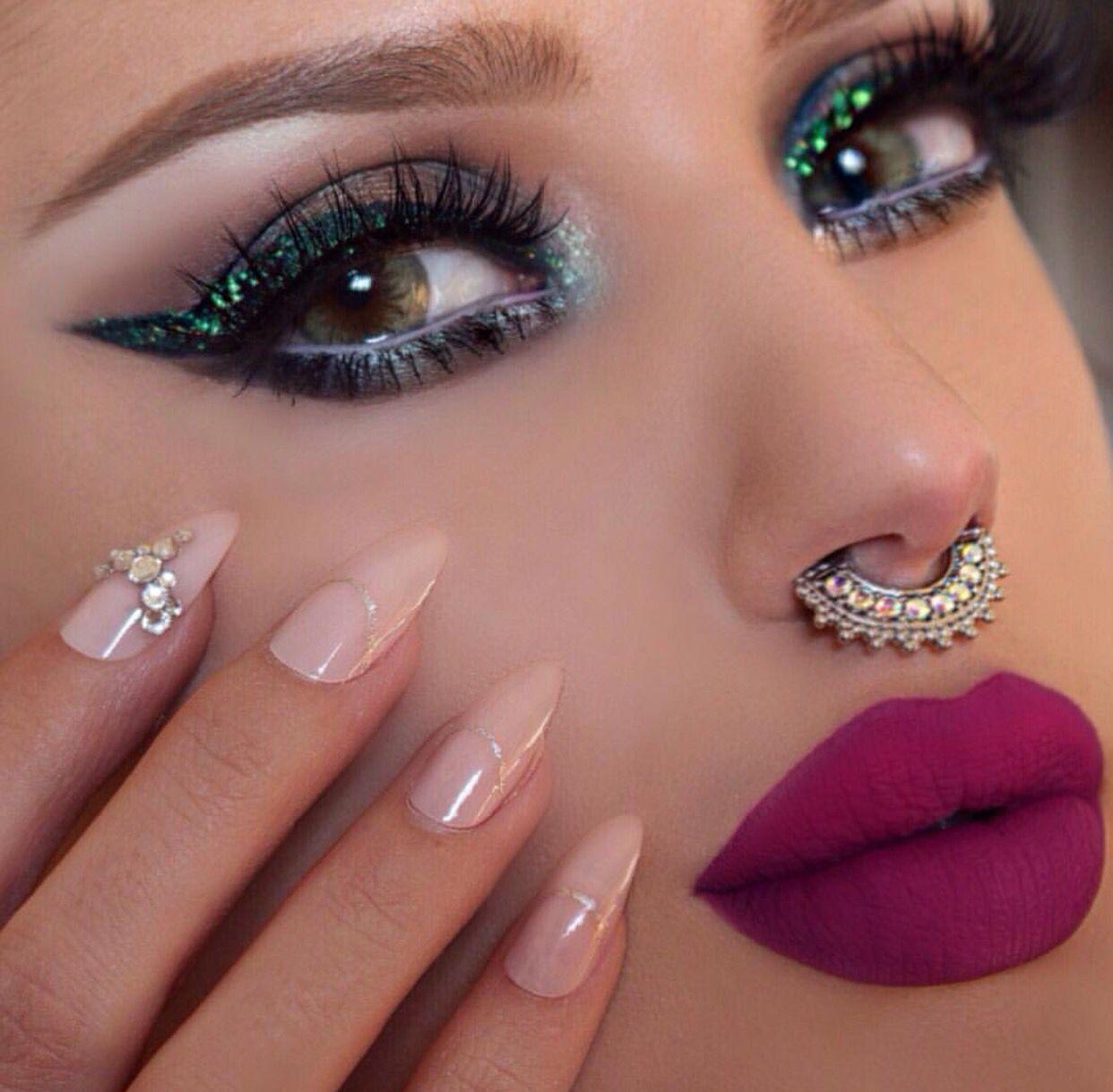 Make up Makeup geek cosmetics, Glitter eyeliner, Makeup
